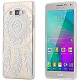 ECENCE Samsung Galaxy A3 A300FU FUNDA DE GEL TPU PROTECTORA CASE TRANSPARENTE CLEAR transparente Dreamcatcher 31020402