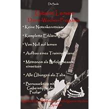 Gitarre lernen: Das 6 Wochen Programm