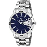 #4: Fogg Analog Blue Men's Watch 2038-BL
