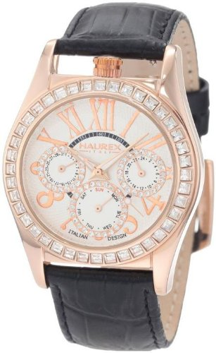 Haurex Italy 8H331DWH Promise White Dial Womens Watch