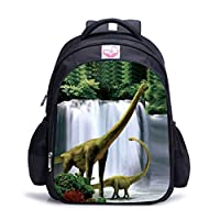 Dinosaur Backpack for Boys, Cool Cartoon Backpack Set Shoulder Bag Pencil Case