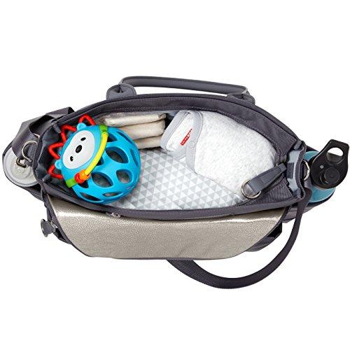Skip Hop 200452 Diaper Bag Chelsea Grey - Wickeltasche, grau grau