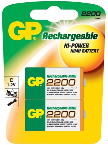 GP Batteries NiMH rechargeable batteries Nickel Metal Hydride