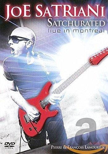 Preisvergleich Produktbild Joe Satriani - Satchurated: Live in Montreal [2 DVDs]