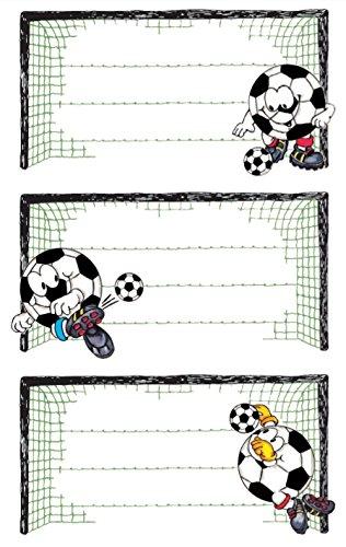 Avery Zweckform Libro 59290Etichette Calcio (presa) di 9