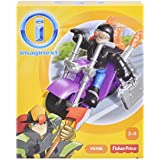 Fisher Price Toy - Imaginext Burglar and Motorcycle Figure Playset by Imaginext