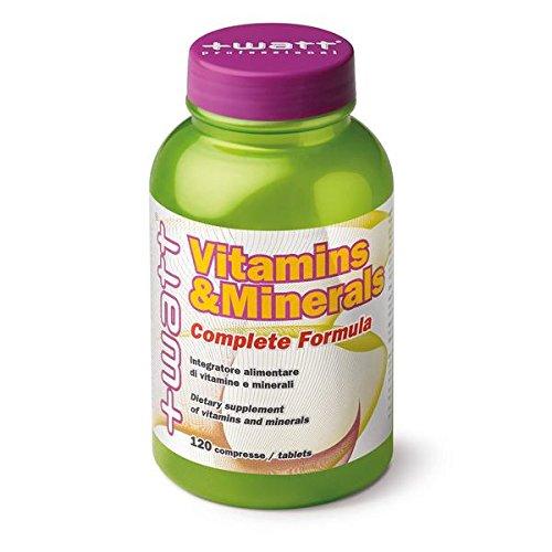 Vitamins & minerals - +watt - vitamine e minerali 120cpr