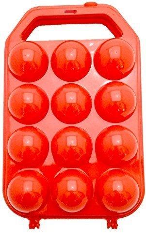 DREAMHUB (TM) Portable Plastic Egg Carry Holder Carrier Storage Box For 12 Pcs Egg - 1 Pc Random Color