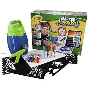 Crayola - Kit de Loisir Créatif - Marker Airbrush -04-8733-E-000