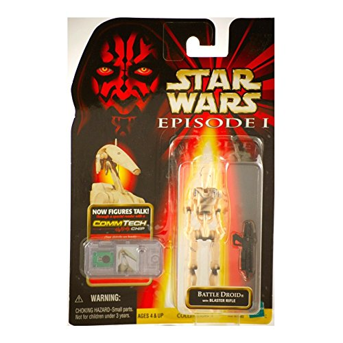 KENNER 1999 STAR WARS EPISODE I COLL. 1 BATTLE DROID SLICED VERSION by Hasbro