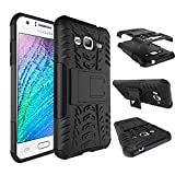 Dooki, Galaxy J3 (2015/2016) Case, Durable [Kickstand] [High Impact] [Heavy Duty] [Shockproof] [Drop Resistance] [Hybrid 2 In 1] Hard Silicone Rubber [Dual Layer Shield] Protective Cover Case For Samsung Galaxy J3 (2015/2016) (G-3)