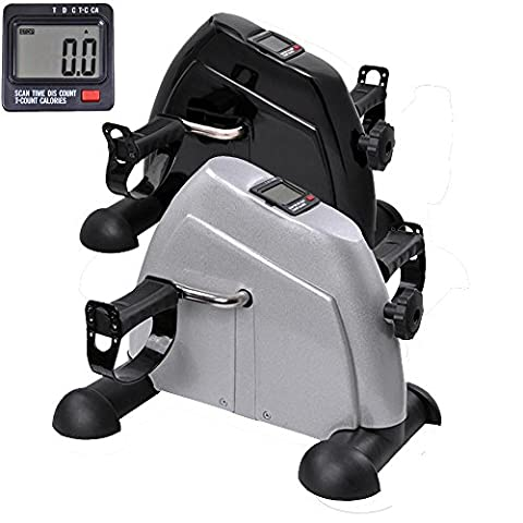 ReaseJoy Arm and Leg Pedal Exerciser with LCD Display Mini