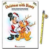 Christmas with Disney - die schönsten Weihnachtslieder mit Mickey Mouse und Freunde - inklusive Smiley-Bleistift arrangiert für Klavier und Keyboard [Noten/sheet music]