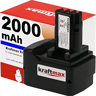 Akku für METABO 631746 - 9,6V / 2000mAh / Ni-Cd - Profiqualität mit frischen, hochwertigen Markenzellen