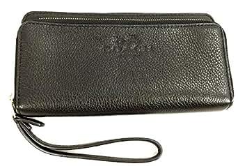 Coach Women's Wallet Black HIS_1027