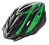 Casco de Ciclismo Deportivo Negro Verde para Bicicleta de Carretera Road MTB 3489