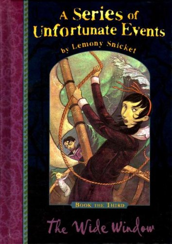 Snicket, Lemony, Vol.3 : The Wide Window; Das zerbrochene Fenster, engl. Ausgabe (A Series of Unfortunate Events)