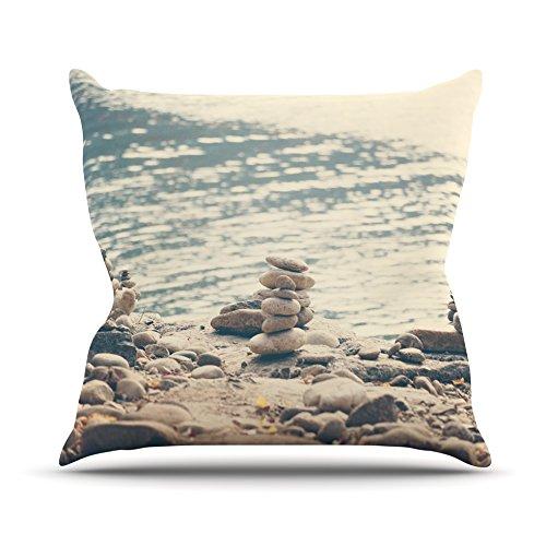 kess-cmy-cm1063aop03-18-x-18-catherine-mcdonald-river-cairns-blu-e-marrone-outdoor-cuscino-multicolo