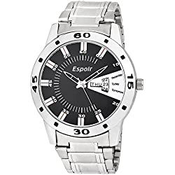 Espoir Analogue Black Dial Men's Watch - Andy0507
