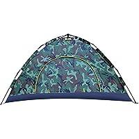 AiNaMei Tienda de playa para acampar al aire libre de una sola planta 2 personas, Camo2
