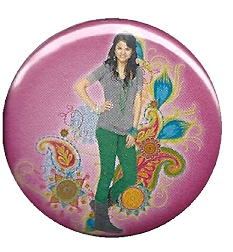 Wizards of Waverly Place Paisley Button ()