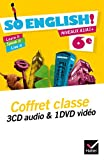 So English! Anglais 6e éd. 2015 - Coffret CD audio classe + DVD vidéo