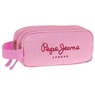 Pepe Jeans Pink Color Neceser de Viaje, 22 cm