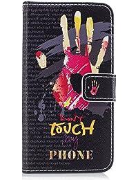 Funda tipo cartera para iPhone, diseño transparente de alta calidad, piel sintética, TPU, resistente a los golpes, ranuras para tarjetas, cierre magnético, función atril, funda tipo libro para iPhone color 10 iPhone 8