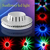 A To Z Traders - 48 LED Electric Magic Sunflower LED Disco Light ,LED Light Lamp For Party/Home/Diwali Decoration And (FREE 1 HAND Shape LED Light KEY