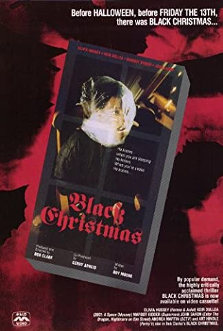Black Christmas Plakat Movie Poster (27 x 40 Inches - 69cm x 102cm) (1974)