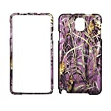 2D Pink Camo Gras Samsung Galaxy Note 3 III N9000 Schutzhülle Hard Case Snap On Cover Gummiert Touch Blenden