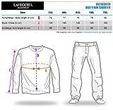 Lavecchia Sportliches Kurzarm Herren Hemd Le Castella Übergröße in schwarz Größe: 5XL