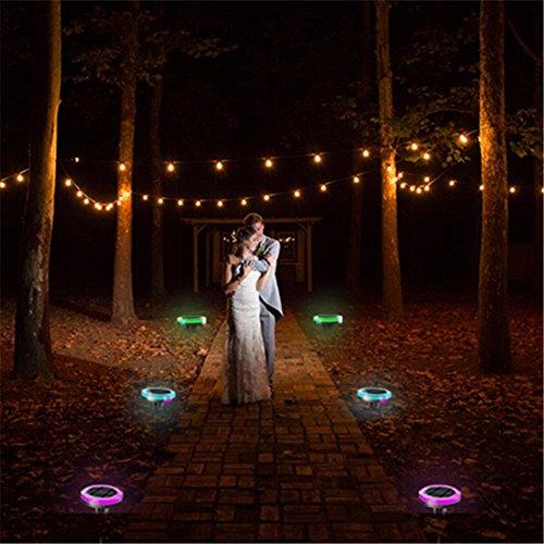 KKVV Led luce solare String all'aperto Cortile decorazioni luce di striscia impermeabile Decorazione natalizia lampade (3 confezioni)