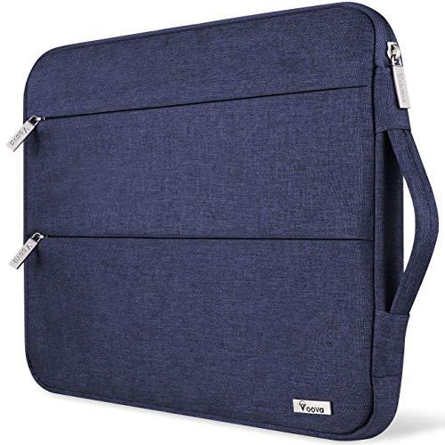 Voova Laptophülle Laptoptasche 14-15.6 Zoll Wasserdicht Notebooktasche 15.6 Zoll Schlank Schutzhülle Kompatibel mit Laptop Ultrabooks/Netbooks/MacBook (Blau)