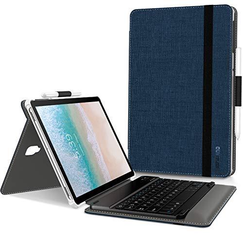 Infiland Teclado Funda Compatible for Samsung Galaxy Tab S4 10.5, Ultra Slim...