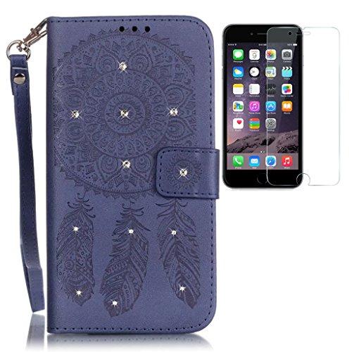 apple-iphone-6-plus-6s-plus-hulle-mit-paznerglasoriginal-flip-bookstyle-cover-wasserdicht-shockproof