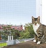 Katznnetz | Nylon Schutznetz | 2 × 1,5 m | transparent