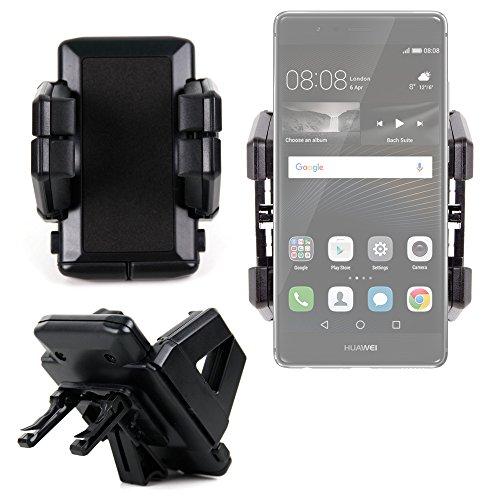 DURAGADGET Soporte De Coche Para Smartphone Huawei P9 / P9 Plus / P9 Lite - ¡Perfecto Para La Rejilla De Ventilación!