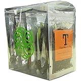 Danyun Fair Trade Co. Té Orgánico Chino Mezclado Mini Bolsas, Té suelto - 30 Bolsas Gram (10 bolsas de té)