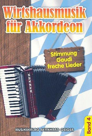 Wirtshausmusik für Akkordeon 4 - Akkordeon Noten [Musiknoten]