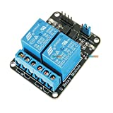 #9: KitsGuru .Com 2 Road/Channel Relay Module (with light coupling) 5V 12V 24V for ARDUINO AVR Arduino Raspberry Pi and other MCU