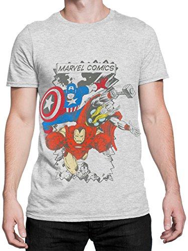Marvel Comics - Camiseta para hombre Avengers - Talla X-Large