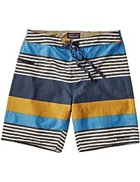 3152e0d25d5f7 Patagonia Wavefarer Board Shorts - Men's Fitz Stripe: Yurt Yellow 31