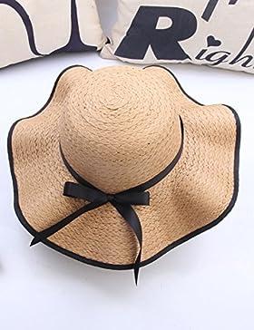 QiangDa L'estate è grande lungo il cappello di Sun Waves Papillon Anti-spiaggia Cap selvaggio Affitto Sun Parenting...