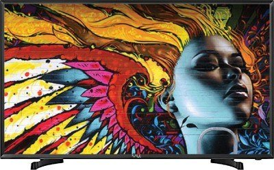 VU 124.5 cm (49 Inches) Full HD LED TV 49D6575 (Black)