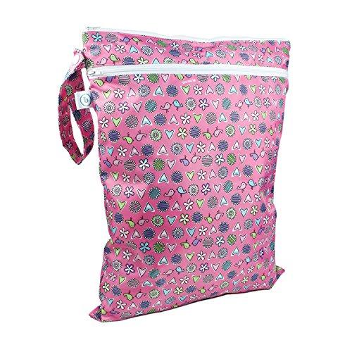 bumkins-bumkwdb740-wet-dry-bag-busta-per-asciutto-bagnato-rosa-love-birds