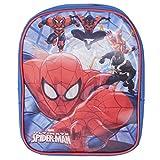 Marvel 1003-5730T Ultimate Spiderman-Zaino Asilo lenticolare Immagine in Movimento 25cm
