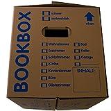 25 Bücherkartons 2 wellig in Profi Qualität Bookbox