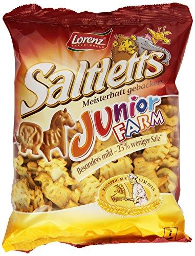 Lorenz Snack World Saltletts Junior Farm, 14er Pack (14 x 150 g)