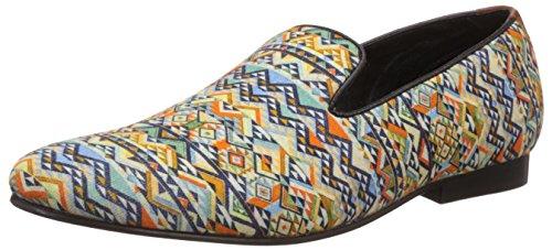 Franco Leone Men's Multi-Color  Slipon Shoe - 9 UK/India (43 EU)